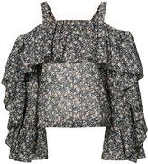 Robert Rodriguez floral blouse - women - Cotton - 6