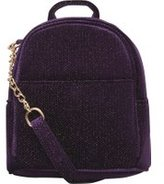 Dorothy Perkins Womens Purple Mini Cross Body Backpack- Purple