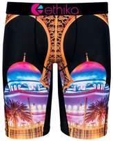 Ethika Men's The Staple Fit Arabian Nights Boxer Brief Underwear Black L