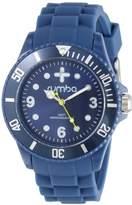 RumbaTime Unisex 12054 Perry Silicone Band 42MM Royal Modern Stylish Analog Watch