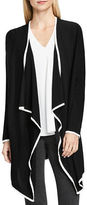 Vince Camuto Drape Front Long Sleeve Cardigan