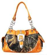 CAMO REAL TREE Camouflage Western Buckle Purse