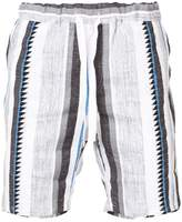 Lemlem Vertical Stripe Shorts