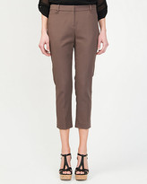 Le Château Double Weave Slim Fit Crop Pant