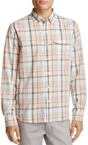 Michael Bastian Plaid Regular Fit Button Down Shirt