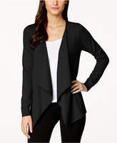 Thalia Sodi Lace-Up-Back Flyaway Cardigan, Created for Macy's