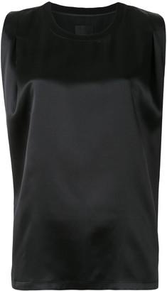 RtA Sleeveless Silk Blouse