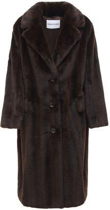 Stand Studio Theresa Faux Fur Coat