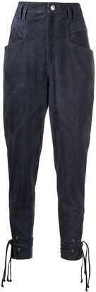 Isabel Marant Ubaia tapered trousers