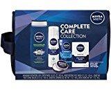 Nivea for Men 5 Piece Complete Care Plus Dopp Bag Gift Set