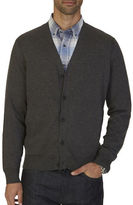 Nautica Big And Tall V-Neck Cardigan