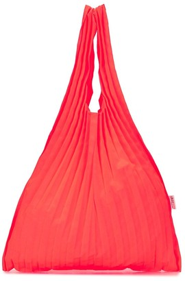 Issey Miyake Pleated Tote Bag