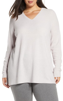 Eileen Fisher V-Neck Wool Tunic