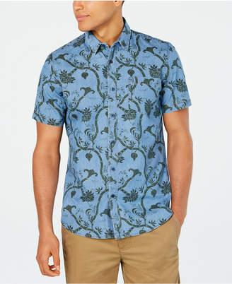 American Rag Men Floral Paisley Print Shirt