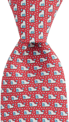 Vineyard Vines Yeti Whale XL Printed Tie