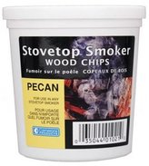 Camerons Products Wood Smoking Chips - 1 Pint of Pecan Wood Chips (Fine) for Smokers - 100% Natural