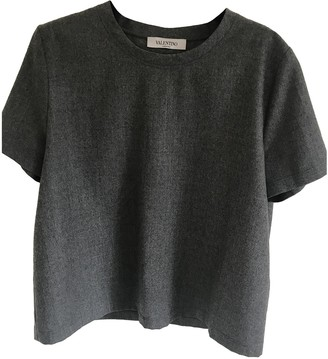 Valentino Grey Wool Top for Women