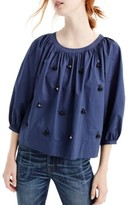 J.Crew Women's The Perfect Embellished Top