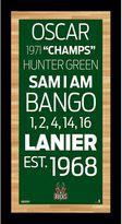"""Steiner Sports Milwaukee Bucks 19"""" x 9.5"""" Vintage Subway Sign"""