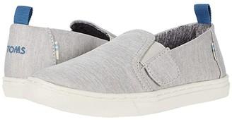 TOMS Kids Luca (Toddler/Little Kid) (Drizzle Grey Repreve Melange Knit) Kid's Shoes