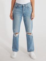 Edwin Kai Deconstructed Straight Leg Jeans