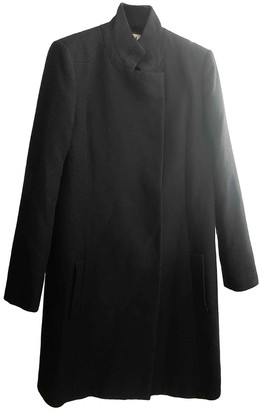 Chloé Black Wool Coat for Women Vintage