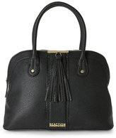 Kenneth Cole Reaction Black Norway Tasseled Tote