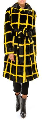 Stand Studio Irina Checked Coat