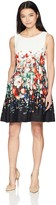 Jessica Howard Jessicahoward JessicaHoward Women's Petite Sleeveless Fit and Flare Dress