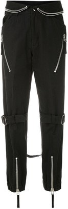 Reinaldo Lourenço Zipped Waistband Straight Trousers
