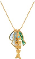 Tory Burch Fish Charm Necklace Necklace