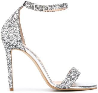 P.A.R.O.S.H. Glitter High-Heeled Sandals