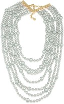 Carolee Beaded Drama Necklace, 15