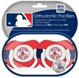 Baby Fanatic Boston Red Sox 2-Pack Pacifiers