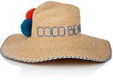 Lola Hats Women's Deck Plan Straw Hat