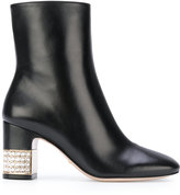 Gucci stone ankle boots - women - Leather - 37