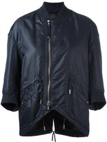 Diesel Black Gold three-quarter sleeve bomber jacket