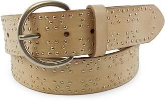 Fashion Focus Studded Leather Belt