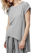 Topshop Split Back High/Low Tee