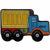 Asstd National Brand Dump Truck Rectangular Rugs