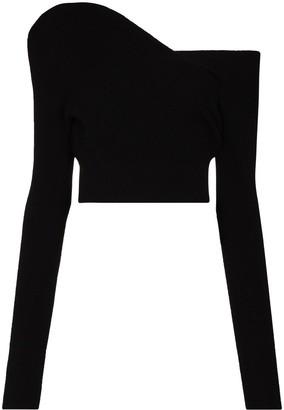 GAUGE81 Lagos off-the-shoulder cashmere jumper