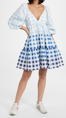 STAUD Mini Meadow Dress