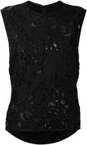 Petar Petrov embroidered blouse - women - Silk/Cotton/Cupro/Viscose - 36