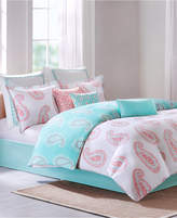Echo Madira Coral California King Comforter Set
