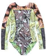 Maaji Greenwoods Long Sleeve Rashguard Swimsuit