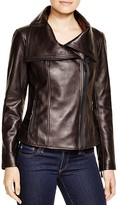 KORS Leather Moto Jacket