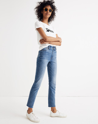 Madewell The Petite Perfect Vintage Jean: Comfort Stretch Edition