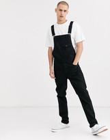Asos Design DESIGN skinny overalls in black
