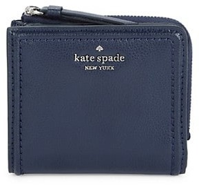 Kate Spade Patterson Drive Small L-Zip Bifold Wallet