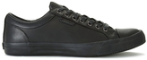 Polo Ralph Lauren Geffrey Canvas/leather Trainers Black